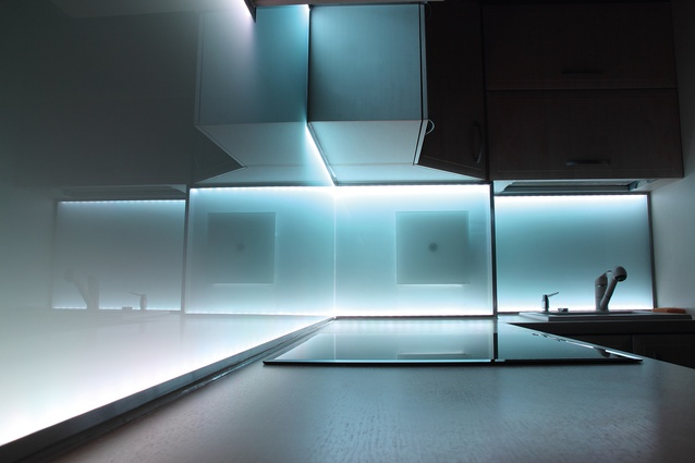 Increasingly, LED is being used to illuminate surfaces around the home, such as kitchen benchtops, stair treads and balustrades.