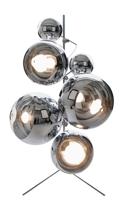 Mirror Ball Tripod Stand by Tom Dixon | 