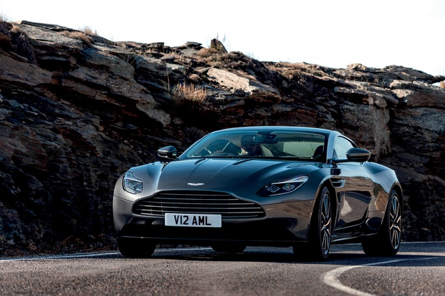 The Aston Martin DB11.