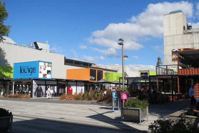 The Christchurch Re:Start container mall was a space where people could engage, modify and identify with.