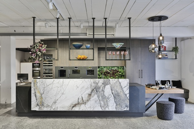 The test kitchen in Kitchens by Design's new North Shore showroom.