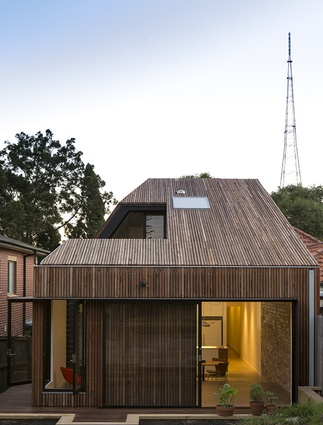 Cut-away Roof House by Scale Architecture.