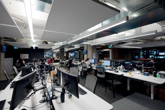 The bustle of the news room is still present, even though typewriters and filing cabinets have been replaced by smart screens and adjustable desks.