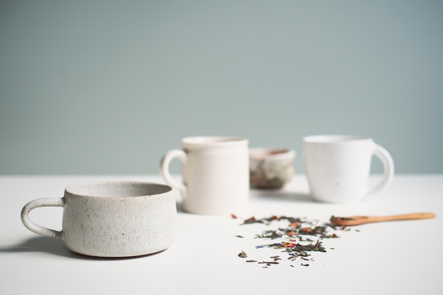 A collection of tea cups on offer at the Kaolin web store.