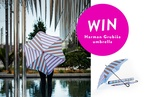 Be in the draw to win a Harman Grubiša umbrella