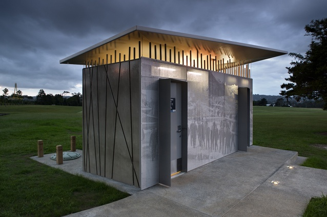 Hobsonville public toilets designed by Arch Office.