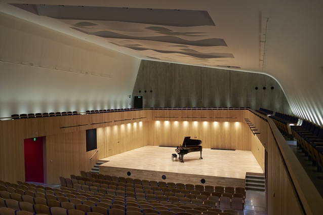 Public Architecture Award: The Blyth Performing Arts Centre by Stevens Lawson Architects.