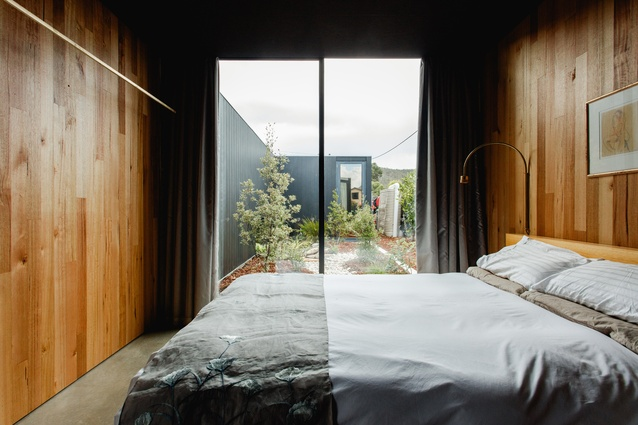 Four courtyards provide views of the outdoors from every room.