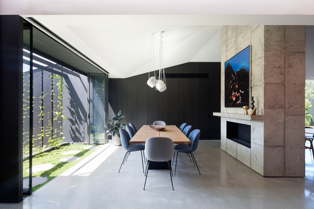 Shadow House by Matt Gibson Architecture + Design with Mim Design.
