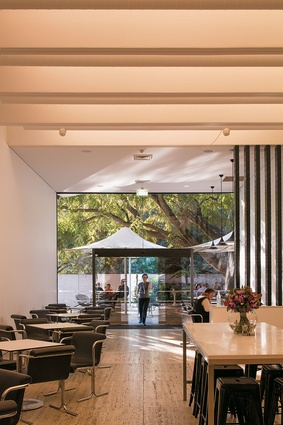 Queensland Gallery Cafe.