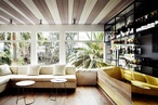 Stylish restaurant interiors