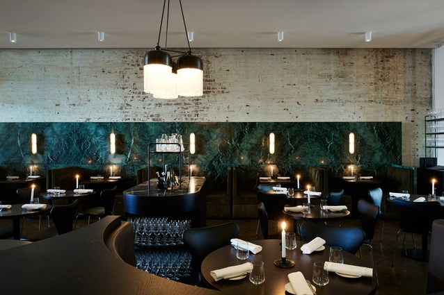 Cutler and Co. by IF Architecture, shortlisted for Best Restaurant Design.