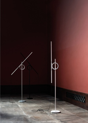 Tangent floor lamp prototype 