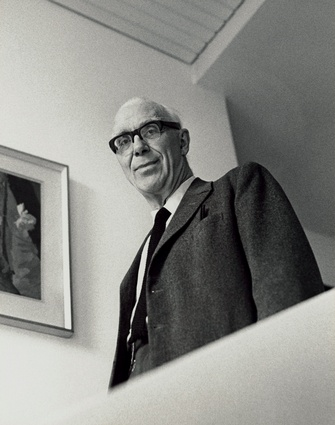Sir Ove Arup by Godfrey Argent, 1969.
