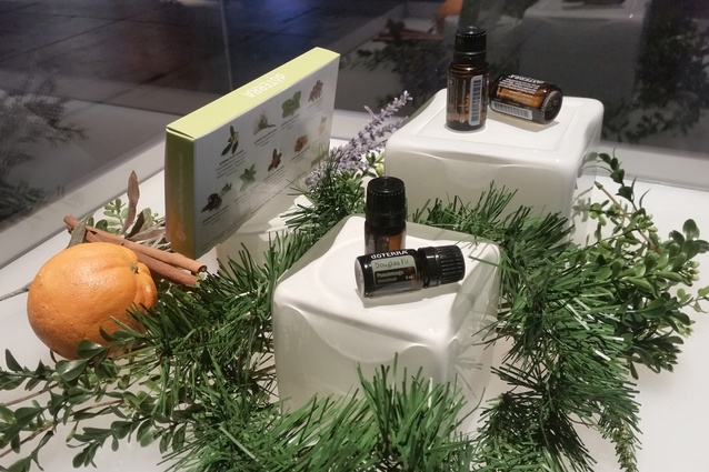 Novel Application of Fibre Award winner: Essential Oils by Forest Plus.