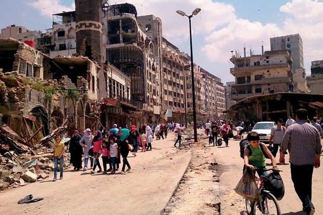 Homs is considered to be the capital of Syria's revolution, being the first place where large demonstrations were held in March 2011.