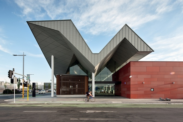 Christchurch Bus Interchange, designed by Architectus.