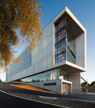Education category finalist: New Law & Management Building, University of Waikato, Hamilton by Opus Architecture.