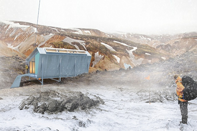Conceptual category winner: The Arctic Pod by Copeland Associate Architects.