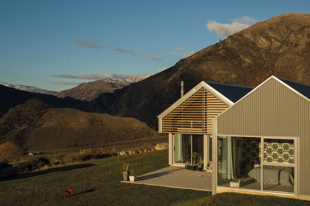 A Gibbston Valley residential project.