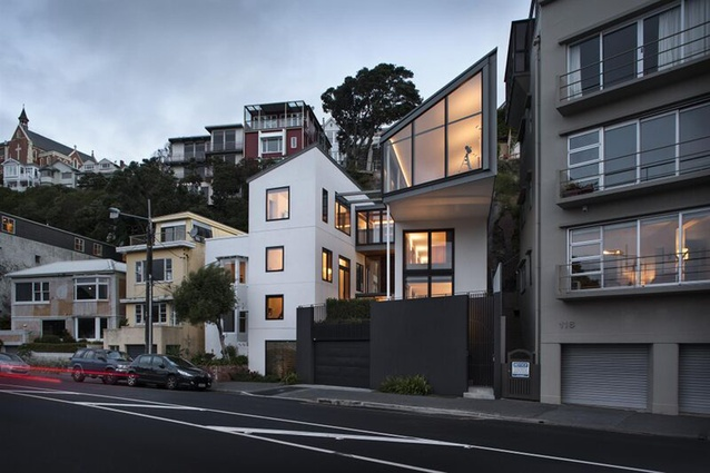 Housing category finalist: 120 Oriental Parade House by Architecture Workshop.