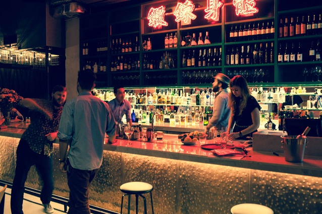 Previously a ping pong hall, this space in Hong Kong's Sai Ying Pun is now a bar dedicated to gin and tonic.
