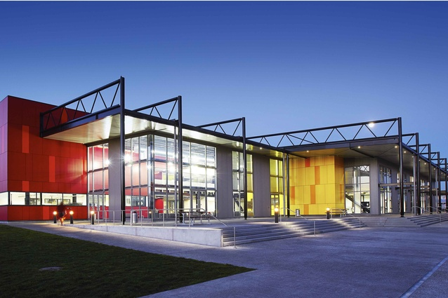 Commercial Architecture Award winner: Wintec Engineering and Trades Facility by Chow Hill Architects.