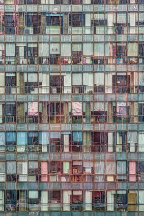 Buildings in use: Office building, Beijing, China, photographed by Tom Stahl.