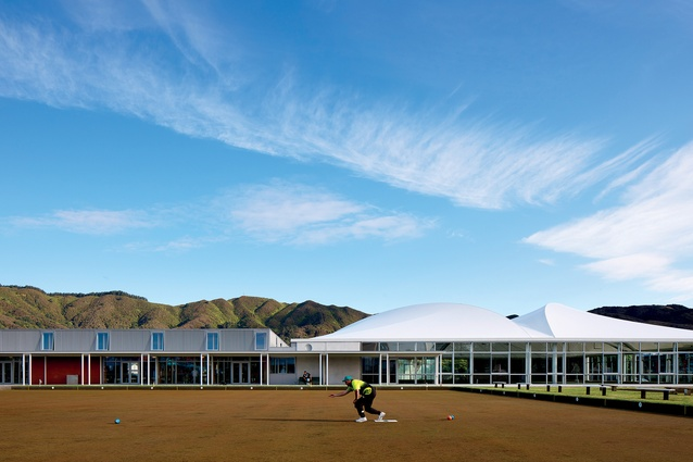 A Mammoth Effort Naenae Bowling Club Architecture Now