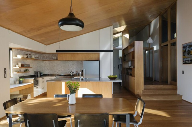 Housing - Alterations and Additions category finalist: Pt Chevalier Bungalow, Auckland by Megan Edwards Architects.