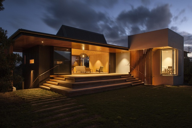 Small Project Architecture category winner: Number 5, Waiheke Island by Architectus.