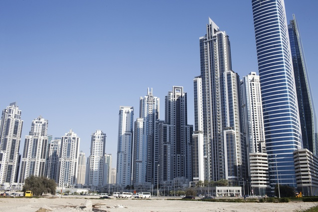 New roads and buildings virtually spring up overnight in Dubai.