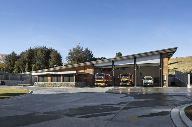 Public Architecture Award: Wanaka Fire Station by Mason and Wales Architects.
