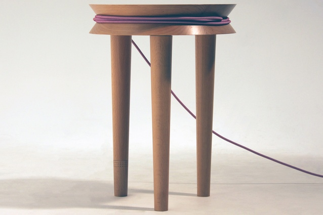 The Spool Stool by Joe Levy was highly commended in 2013.