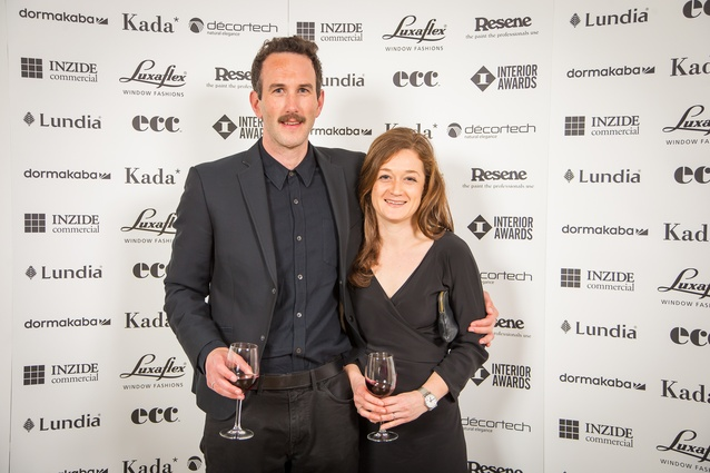 Luke Douglas and Courtney Douglas (Patterson Associates): Retail Award winner for Aesop Newmarket.