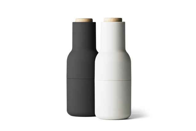 "Minimalism never looked so good. The <a href=""https://www.letliv.co.nz/products/bottle-grinder-ash-carbon"" target=""_blank""><u>Norm bottle grinder set in ash and carbon</u></a> will add a new dimension to your table."